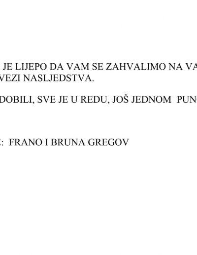 Frano and Bruno Gregov (HR)