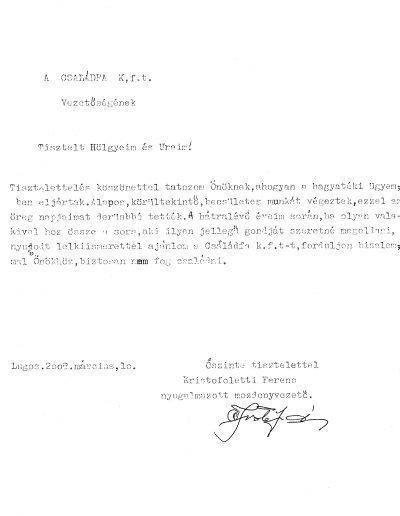 Kristofoletti Ferenc (HU)