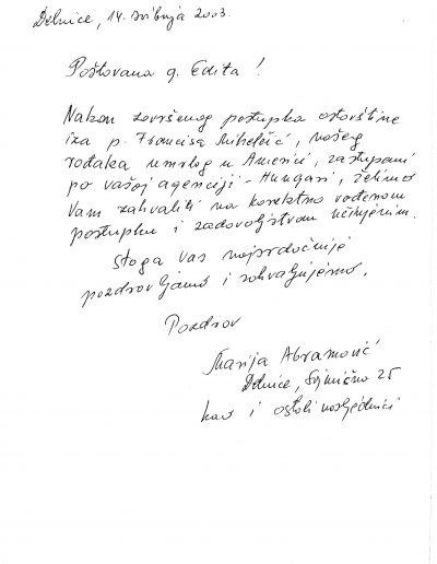 Marija Abramović (HR)