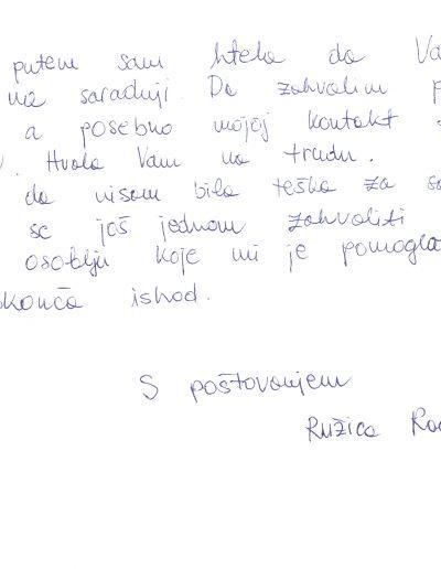 Ruzica Radnov (HR)