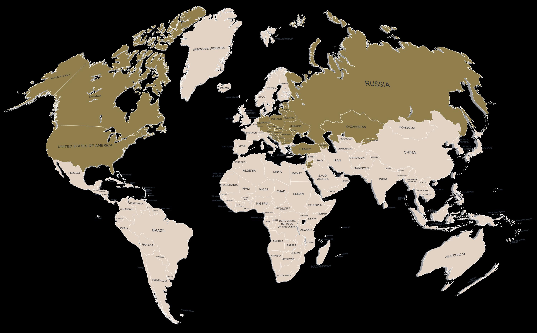 Családfa Kft. - Országok, melyekben kutatunk